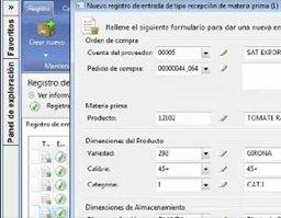 Solución de registro de compra de frutas de Aitana sobre Microsfot Dynamics AX. Webinar de 41 minutos