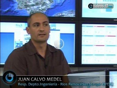 Gestión y control de parques solares en Grupo Opde (www.opde.net). Video-Reportaje de 20 minutos.