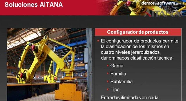 Dynamics Navision para fabricantes y mayoristas de automatismos industriales. Webinar de 1 hora, por Aitana.