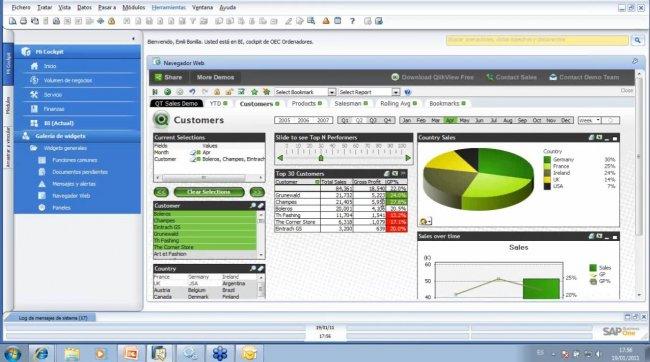 Sap Business One 8 8 Interfaz Y Creación De Widgets En El