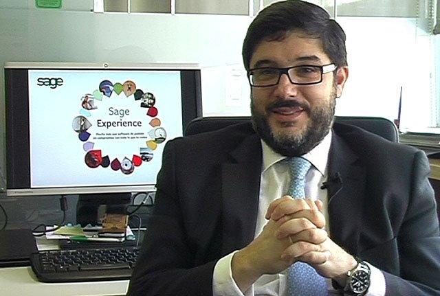 Videoentrevista al nuevo CEO de SAGE España. En exclusiva.