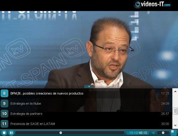 Video-entrevista con el responsable mundial de SAGE ERP X3. ¡En EXCLUSIVA!