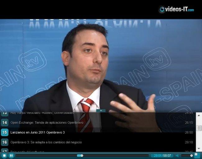 """""""Openbravo es muy fuerte en el Retail"""". Video- Entrevista al Responsable de Canal de Openbravo."""