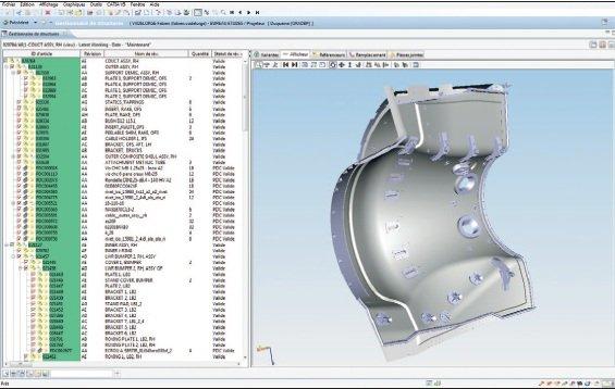 Siemens PLM integrado con ERP y MES en Duqueine, fabricante francesa de componentes aeronáuticos. Caso de estudio.