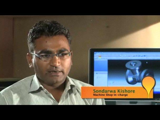 Empresa de ingeniería industrial india reduce 40% el tiempo de diseño con Solid Edge y CAM Express. Vídeo en inglés.