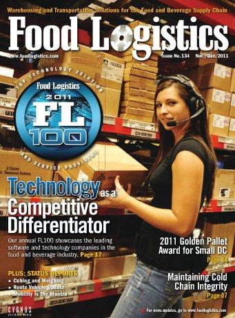 Versión electrónica Revista Food Logistics noviembre-diciembre 2011