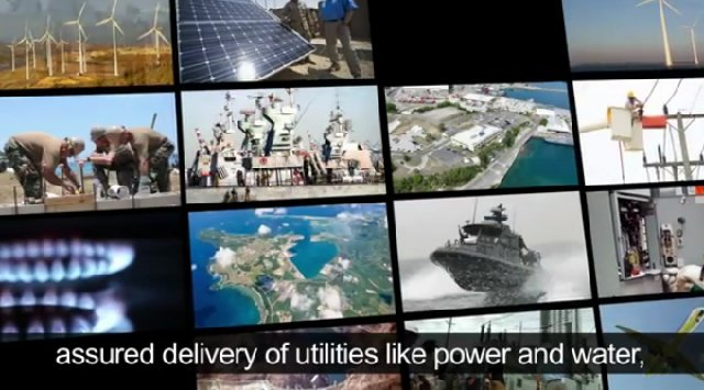 Smart Grid energética de la US Navy. Video en inglés de 4 minutos.