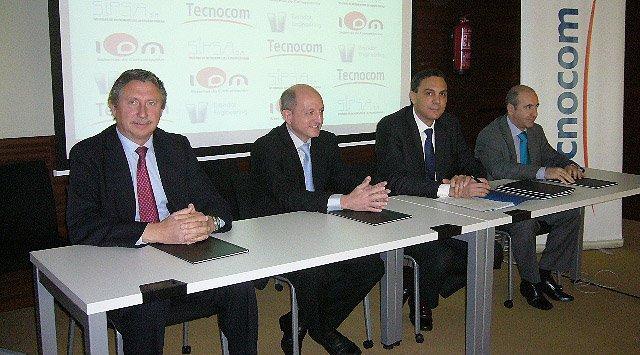 Banca y Seguros: Tecnocom se alía con fabricantes españoles para reforzar la productividad comercial y la lucha antifraude. Crónica desde Madrid.