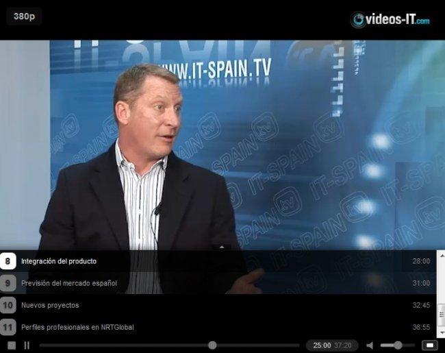 El pionero en tecnología cloud NTRglobal explica sus productos y proyectos de futuro. Vídeo entrevista de 40 minutos.