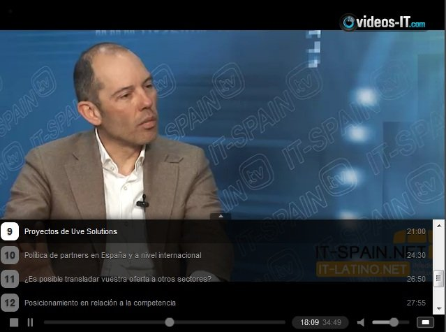 Uve Solutions describe cómo aumentar la visibilidad de canales de distribución de productos de gran consumo. Vídeo-entrevista 35 min.