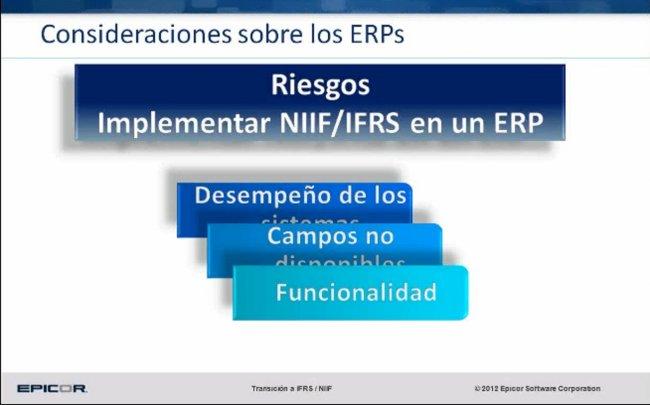 Control de Activos Fijos, mantenimiento e impacto de las IFRS-NIIF en las organizaciones, por Epicor. Webinar de 45 minutos.