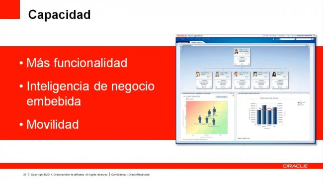 Los retos actuales de los RRHH y alternativas tecnológicas disponibles, por Oracle. Webinar de 51 minutos