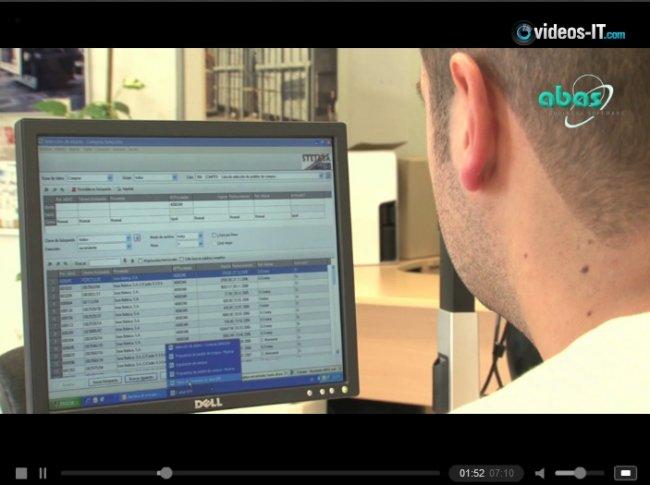 Caso práctico: La ingeniería Stejasa explica cómo utiliza abas ERP y qué beneficios le ha supuesto. Vídeo de 7 min.