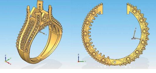 Shiv Diamonds utiliza Solid Edge para el diseño de sus joyas