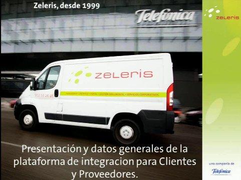 Caso Práctico: Zeleris explica cómo procesa 40.000 órdenes de servicio diarias con Business Integration Suite de Seeburger. Webinar de 70 minutos.