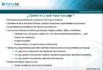 Grandes fracasos en implementación de proyectos de factura electrónica. Por Easyap. Webinar de 1 hora.