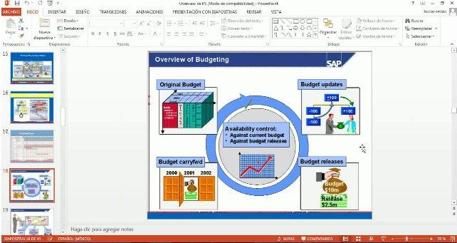 Visión general del módulo de Project System de SAP. Webinar de 1 hora.