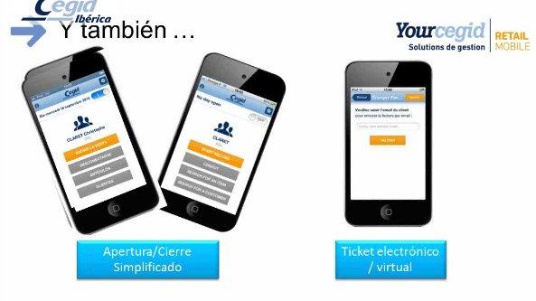 Introducción a las nuevas aplicaciones móviles de Yourcegid Retail Mobile. Webinar de 1 hora.