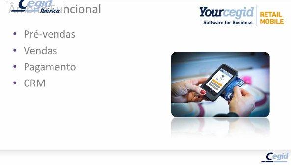Yourcegid Retail Mobile: Soluções móveis para retalho do século XXI. Webinar de 30 mn.