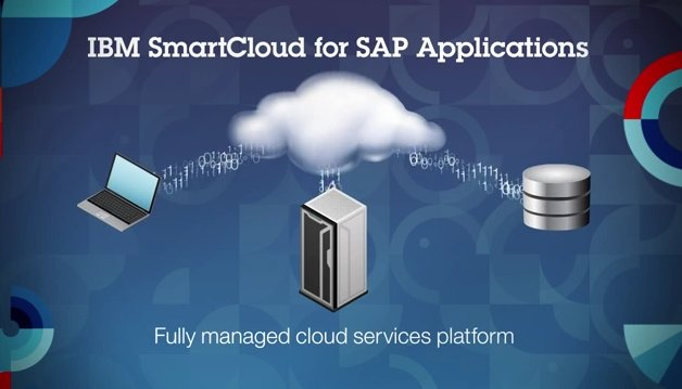 Introducción a IBM fully managed cloud platform for SAP applications. Vídeo de 4 minutos y medio.