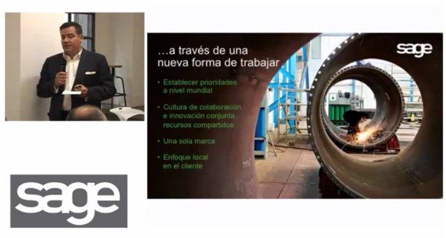 SAGE España explica su nueva estrategia en el Cloud. Vídeo presentación de 1 hora 15 minutos.