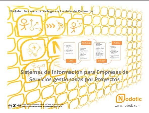 Sistemas de información para empresas de servicios gestionadas por proyectos. Presentación por Nodotic.