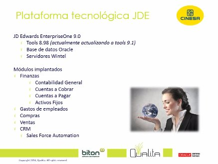 Automatización de Cuentas a Pagar en Oracle JD Edwards: eBit for JDE. Caso de éxito Cinesa. Webinar de media hora.