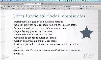 Dolibarr ERP/CRM Open Source. Intro y demo. Webinar de 1 hora.