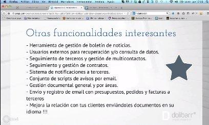 Dolibarr ERP/CRM Open Source. Intro y demo. Webinar de 1 hora.