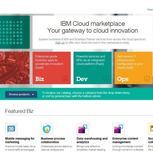 IBM Cloud Marketplace. Informe Especial.