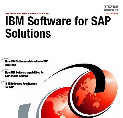IBM software para SAP. IBM ReedBook (sept. 14)