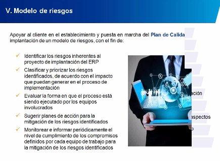 Control de Calidad en Proyectos de Implementación de un ERP. Por KPMG. Webinar de 1 hora.