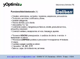 Dolibarr, ERP Open Source. Intro y demo. Webinar de 40 minutos.
