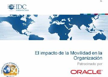 Movilidad en la empresa: Seguridad, desafios y oportunidades. Por IDC Latam. Webinar de 1 hora.