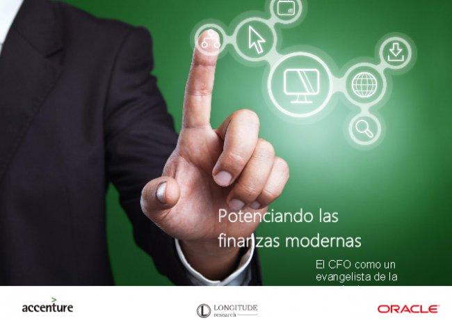 Las finanzas modernas actúan como socios estratégicos, orientados al servicio, por Oracle y Accenture.