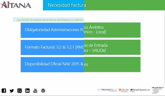 Factura electrónica para Microsoft Dynamics NAV & AX. Webinar de 30 minutos