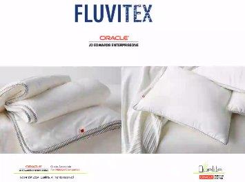 JD Edwards en Fluvitex, fabricante de almohadas y edredones. Webinar de 50 minutos.
