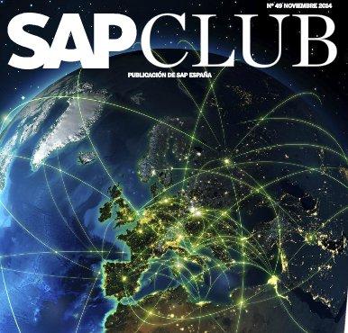 Revista SAP Club de diciembre