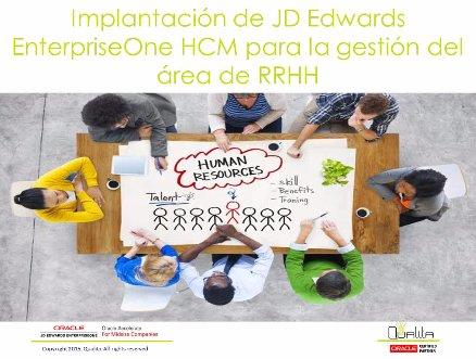 Gestión de RRHH con JD Edwards HCM en el fabricante de válvulas español Bac Valves. Webinar de 45 minutos.