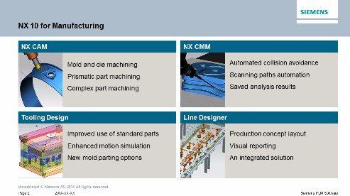Nuevo Siemens NX10-CAM: Descubra las novedades en fabricación. Webinar de 1 hora.