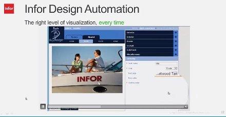 Configurador de Productos de Infor (Intro y Demo). Webinar de 1 hora.