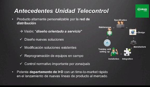 Personalización de Productos en IKUSI Telecontrol (Electrónica) [Caso Práctico] [Webinar de 1 hora]