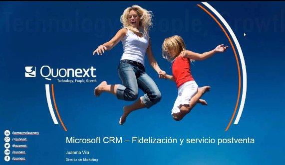 Atención al cliente 360º con Microsoft Dynamics CRM. Webinar de 1 hora.