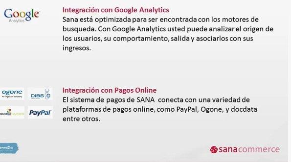 Sana Commerce. eCommerce para Dynamics NAV. Por Ibermática. [Webinar de 30 mnts.]