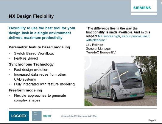 Siemens NX para diseño en Automoción y Transporte [Webinar de 1 hora]