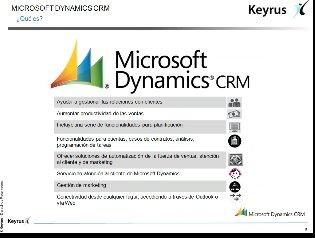 Intro y demo a Microsoft Dynamics CRM (Por Keyrus) [Webinar de 40 mnts.]