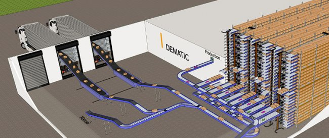 Dematic lanza nueva solución de almacenamiento y manipulación para la industria cárnica
