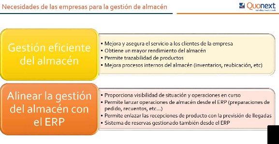 Gestión de Almacenes en Microsoft AX con Quomobile [Webinar de 70 mnts.]