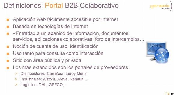 Portal B2B de Generix: Introducción y Ejemplos [Webinar de 67 mnts.]