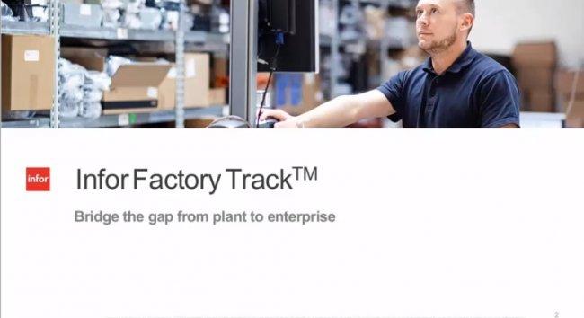 Infor Factory Track: Control de la Producción en Fabricación [Webinar de 49 mnts.]